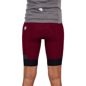 Sportful Giara Pantalones cortos Mujer, rojo